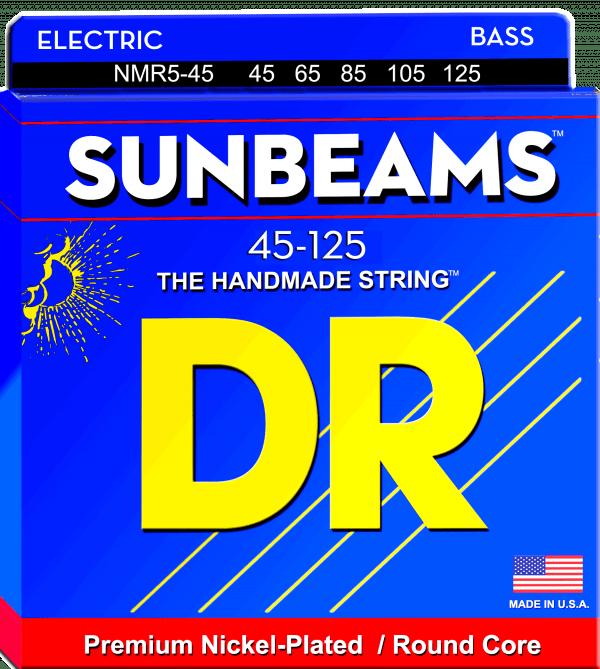 DR Strings Sunbeams 5 String Medium (45-125)