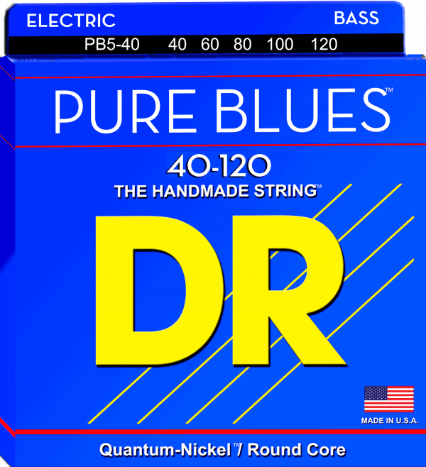 DR Strings Pure Blues 5 String Lite (40-120)