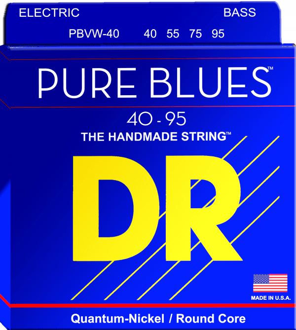 DR Strings Pure Blues 4 String Victor Wooten (40-95)
