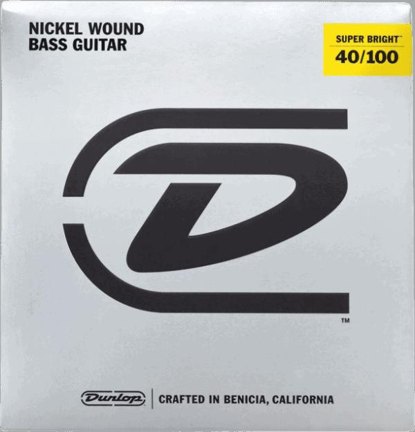 Dunlop Super Brights Nickel 4 String (40-100)
