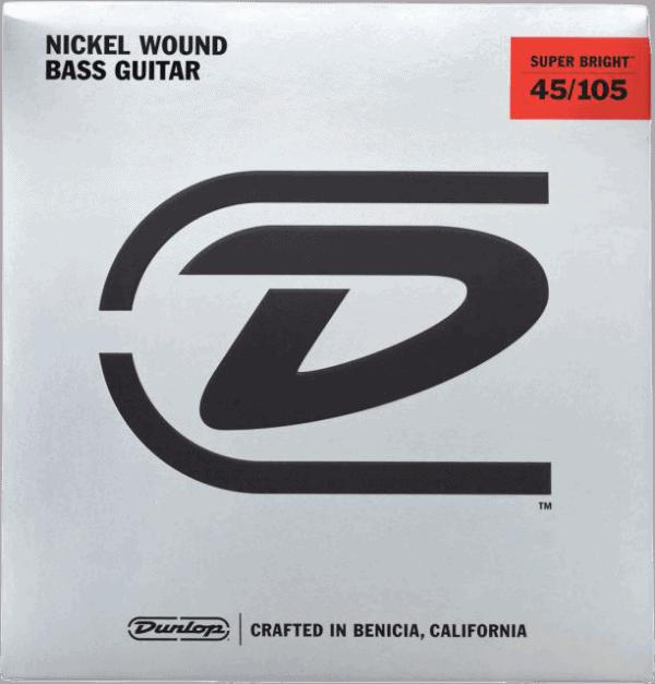 Dunlop Super Brights Nickel 4 String (45-105)