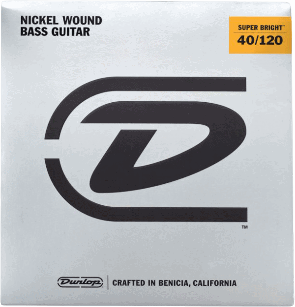 Dunlop Super Brights Nickel 5 String (40-120)