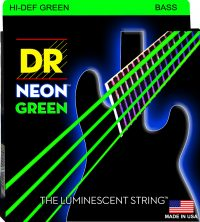NEON GREEN BASS 4 STRING