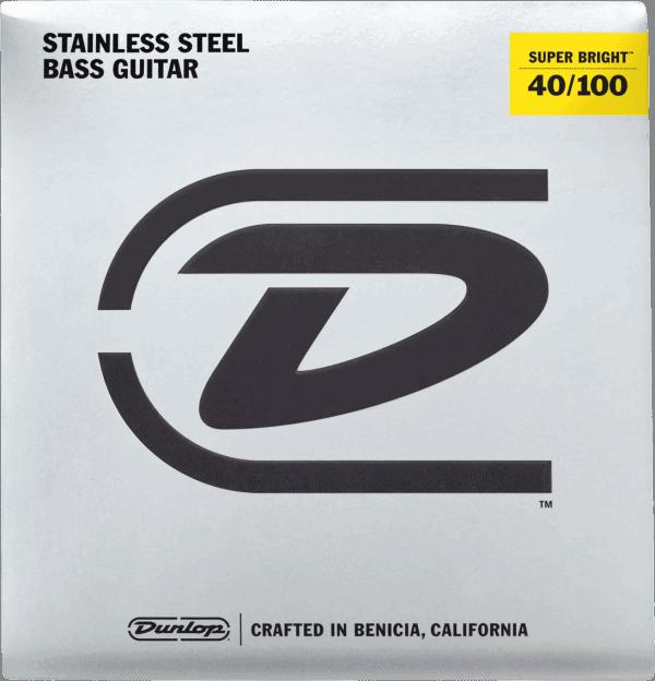 Dunlop Super Brights Stainless Steel 4 String (40-100)