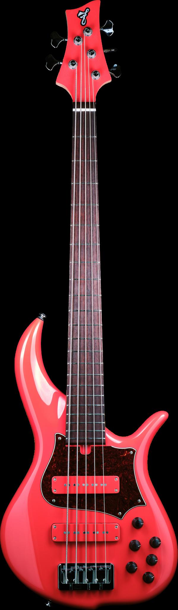 F Bass BN5 Fiesta Red