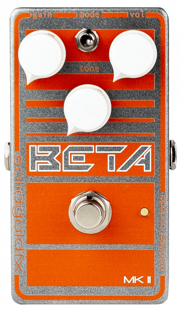 Solidgoldfx Beta MK II Bass Preamp / Overdrive