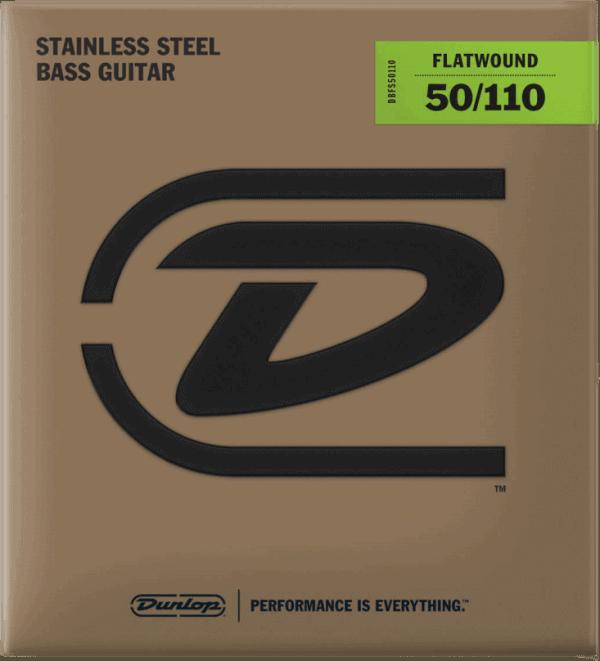 Dunlop Flatwound 4 string (50-110)