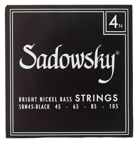 Sadowsky Black Label Nickel Plated 4 String (45-105)