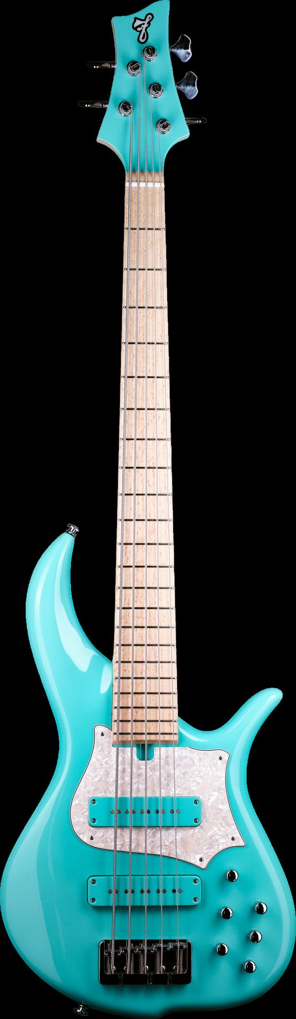F bass BN5 Solid Seafoam Green