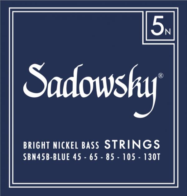 Sadowsky Blue Label Nickel Plated 5 String (45-130T)